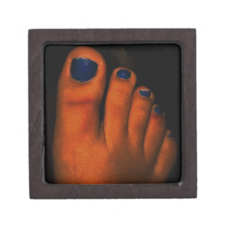 BLUE TOES GIFT BOX