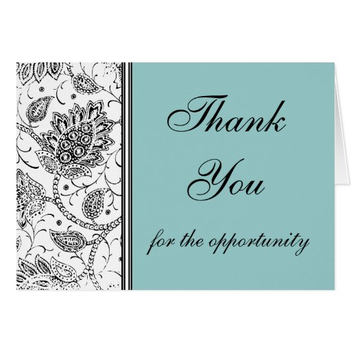 Blue Toile Thank You Cards, Personalized