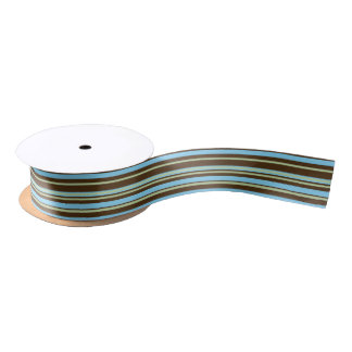 Blue Tone Satin Ribbon