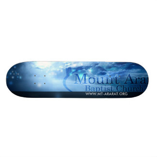 Blue Tone Skate Board