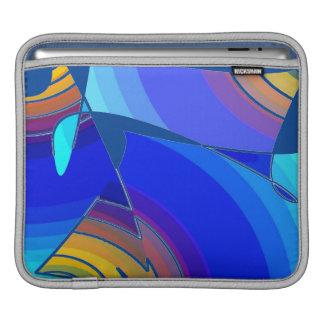 Blue Tones iPad Sleeve
