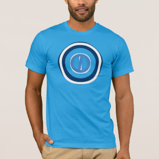 Blue Tones Ring Round Design - see note T-Shirt