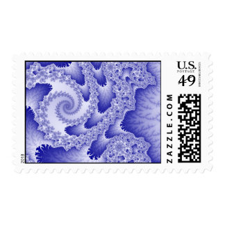 Blue Tongues Postage Stamp