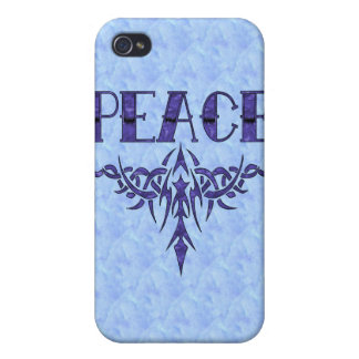Blue Too Peace Art iPhone 4/4S Cover
