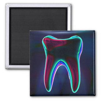 Blue Tooth Dentist Orthodontist Magnet