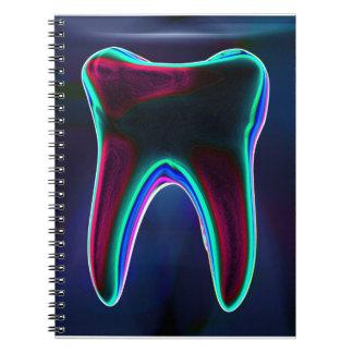 Blue Tooth Dentist Orthodontist Notebook