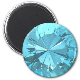 Blue Topaz 3 Magnet