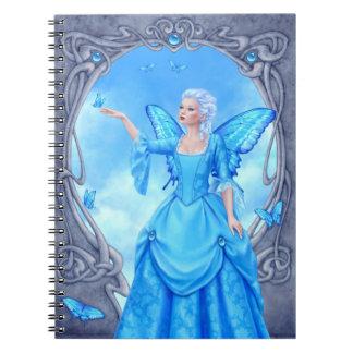 Blue Topaz Birthstone Fairy Notebook