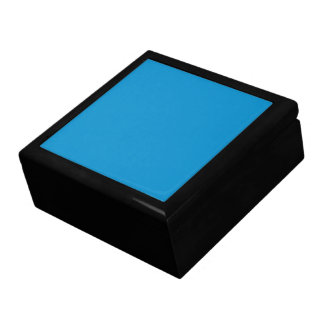 Blue Topaz Solid Color Gift Box