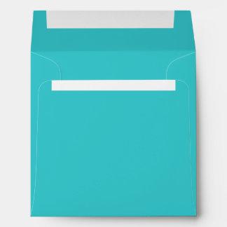 Blue Topaz Square Envelopes
