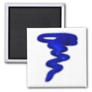 Blue Tornado Magnet