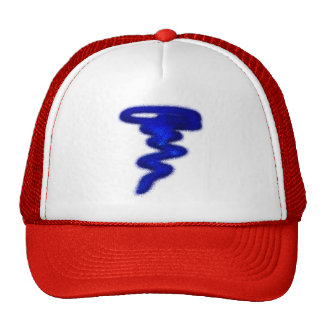 Blue Tornado Trucker Hat