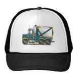 Blue Tow Truck Wrecker Hats