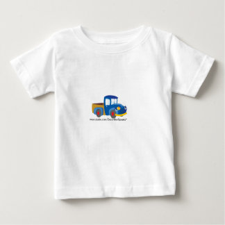 Blue toy truck infant t-shirt