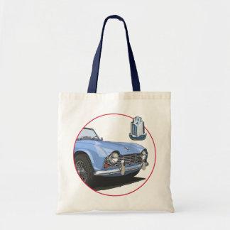 Blue TR4 Bags