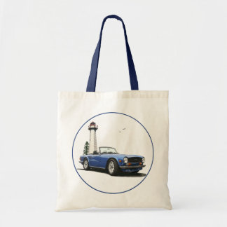 Blue TR6 Tote Bags