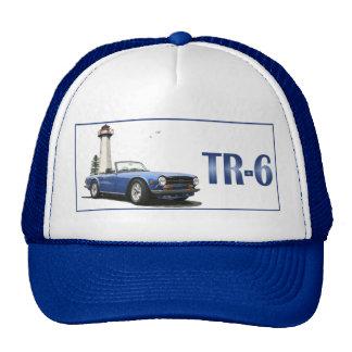 Blue TR6 Trucker Hat