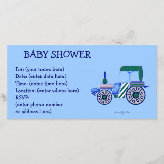 Blue Tractor Baby Shower