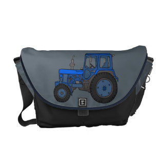 Blue tractor courier bag