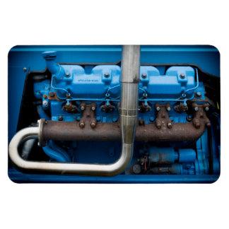 Blue Tractor Motor Magnet
