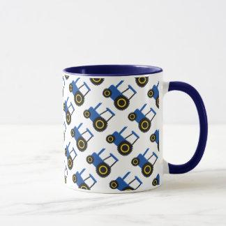 Blue Tractor Mug