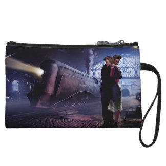 Blue Train 2 Wristlet Wallet