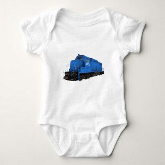 Blue Train Engine: Baby Bodysuit