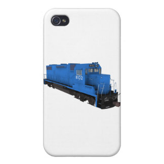 Blue Train Engine: Cover For iPhone 4
