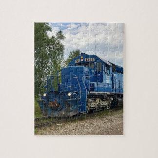 Blue Train MIchigan Puzzle