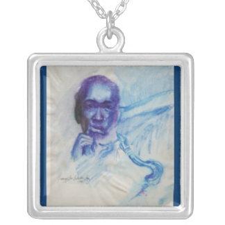 Blue Trane Necklace