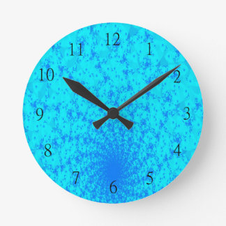 Blue Tranquility Clock
