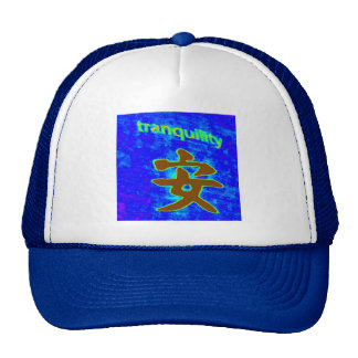 blue tranquility hat