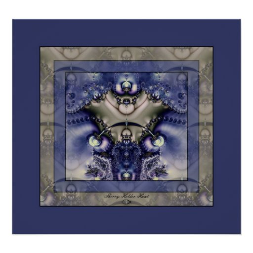 Blue Treasures 1 Posters