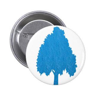 Blue Tree Acrylic Symbolic ART NVN38 navinJOSHI Buttons