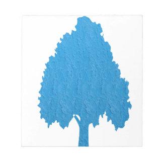 Blue Tree Acrylic Symbolic ART NVN38 navinJOSHI Scratch Pads