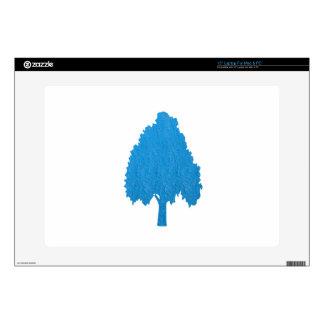 Blue Tree Acrylic Symbolic ART NVN38 navinJOSHI Skin For Laptop