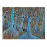'Blue Tree Forest' postcard