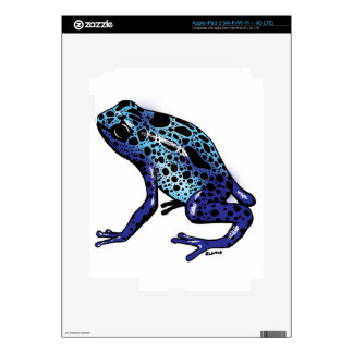 Blue Tree Frog iPad 3 Skin
