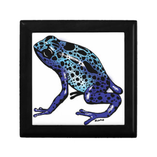 Blue Tree Frog Jewelry Boxes