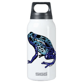 Blue Tree Frog Thermos Bottle