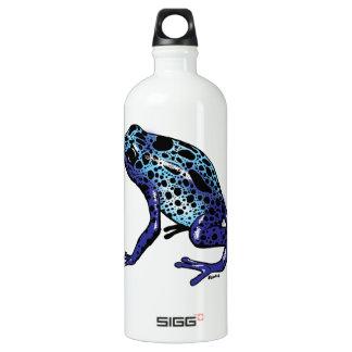 Blue Tree Frog Water Bottle