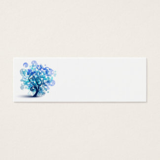 Blue Tree Mini Business Card