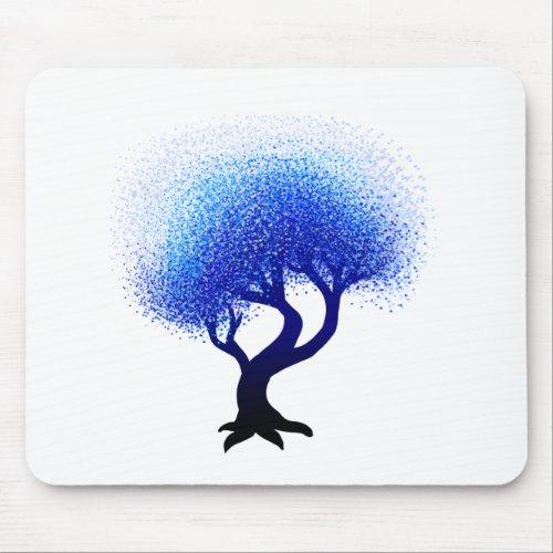 Blue Tree mousepad