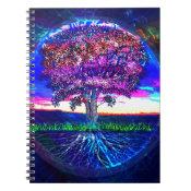 Blue Tree of Life Notebook (<em>$13.70</em>)
