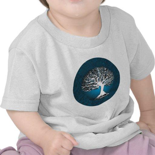 Blue Tree of Life T-shirts