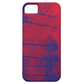 Blue Trees iPhone 5 Cover