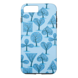 Blue Trees iPhone 7 Plus Case