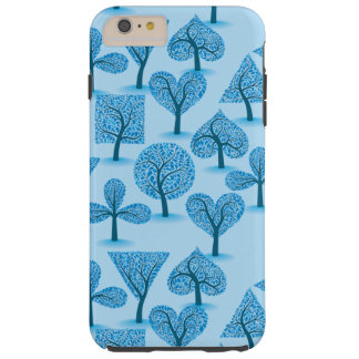 Blue Trees Tough iPhone 6 Plus Case
