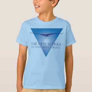Blue Triangle Logo Kid's T-Shirt