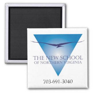 Blue Triangle Logo Magnet